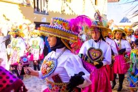 Festival v Ollantaytambu.