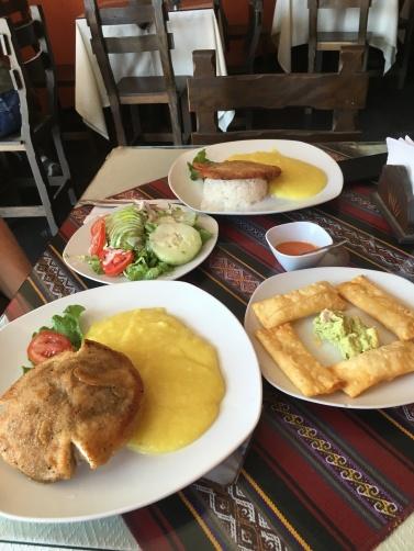 Peruánská kuchyně...