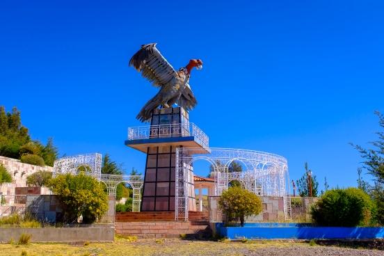 Vyhlídka kondora v Puno...