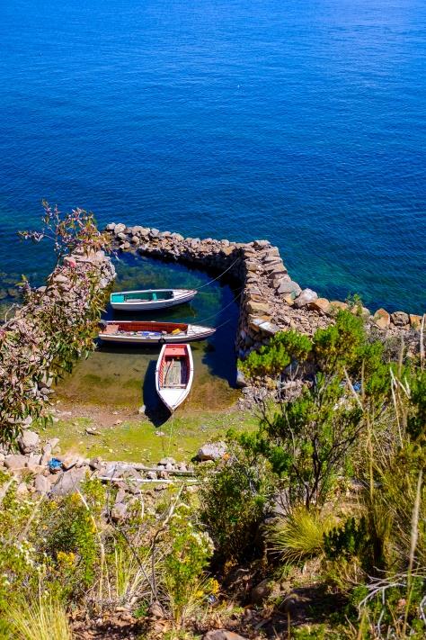 Ostrov Taquile.