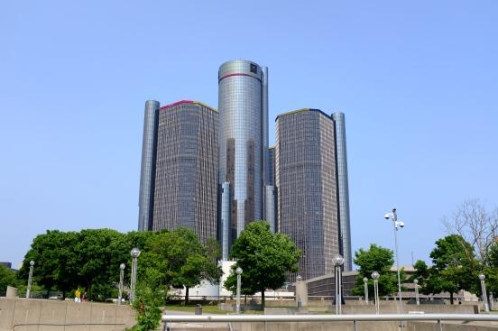 Centrála GM v Detroitu.