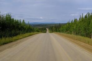 Ta lepší část Dalton Highway.