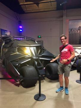 Výstava batmobilů