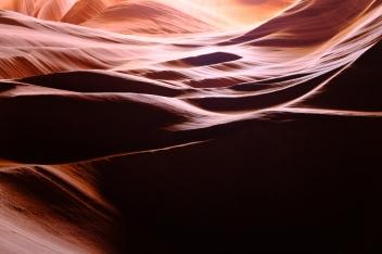 Fotogenický Antelope Canyon.